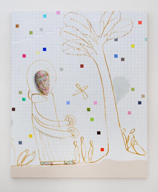 , 'San Francesco parla agli uccelli #2,' 2016, SpazioA