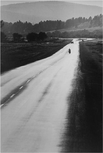 , 'Open road for a biker, Colorado,' 1971, HackelBury Fine Art
