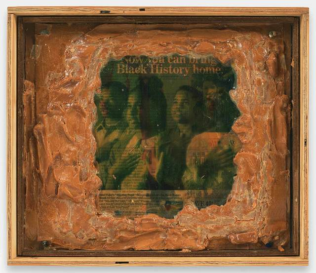 , 'Truth and Time a.k.a. Now You Can Bring Black History Home,' 1994, Stephen Friedman Gallery