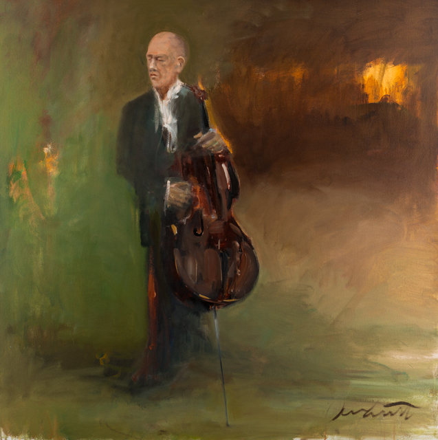 , 'Cellist,' , Merritt Gallery