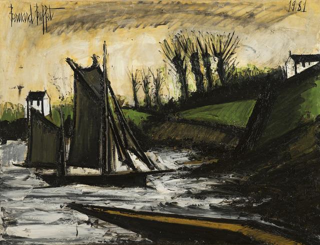 Bernard Buffet, 'Bateau de pêche', 1981, HELENE BAILLY GALLERY