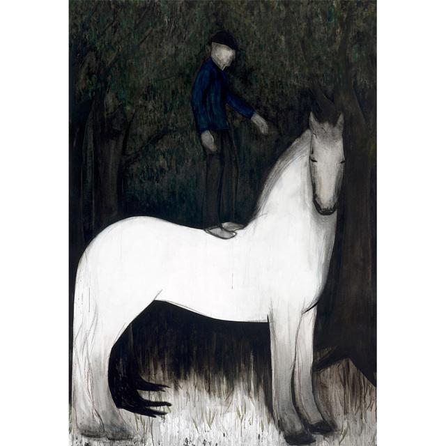, 'Pferd und Reiter III,' 2011, Glade Gallery
