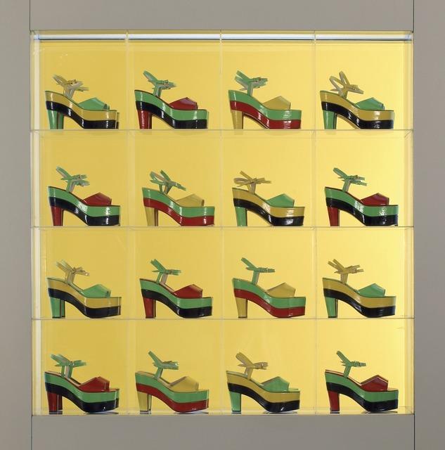 Dalila Puzzovio, 'Dalila doble plataforma (Dalila Double Platform)', 1967-2002, Dallas Museum of Art