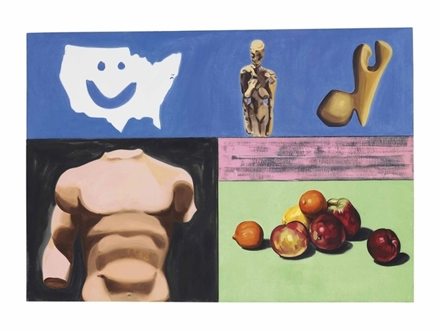 David Salle, 'Still Life with Map', Christie's