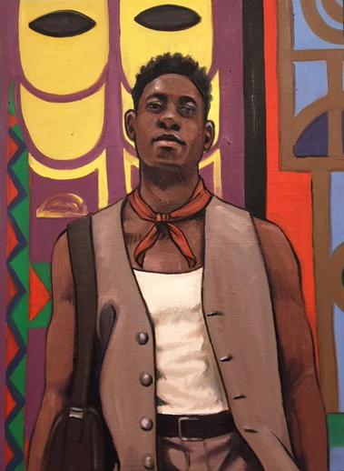 , 'Cory Simmons,' 2018, Jen Mauldin Gallery