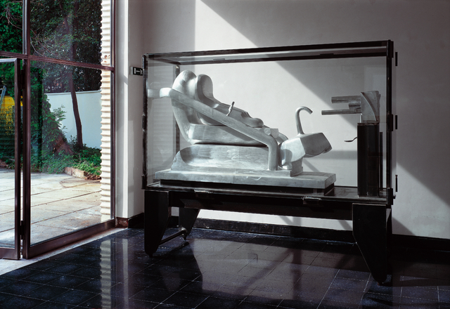 , 'Ohne Titel (Große Stahlvitrine),' 1972-1995, Galerie Elisabeth & Klaus Thoman