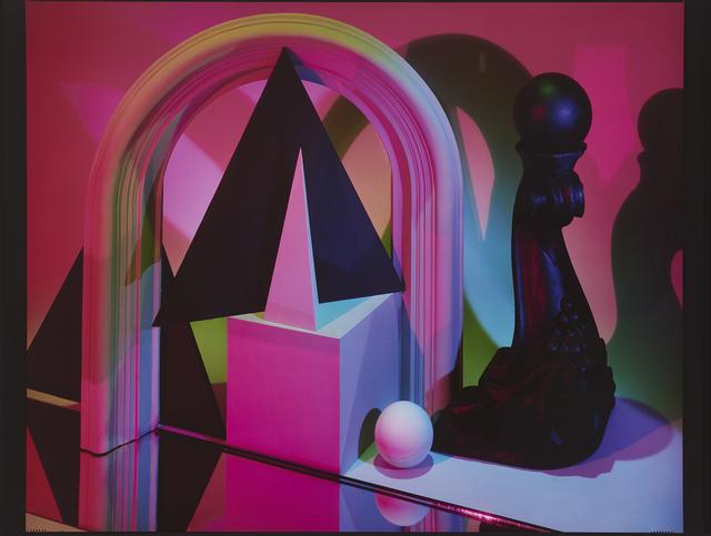 Barbara Kasten, 'Construct NYC 14 ', 1984, Photography, Cibachrome print, Jessica Silverman