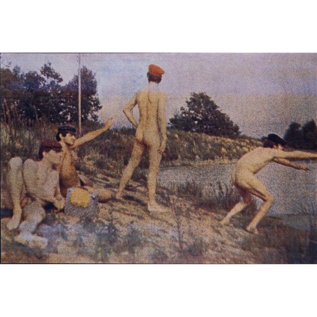Alain Jacquet, 'Thomas Eakins Swimming Hole', 1966-1968, Print, Colour screen printing on mansonite, PIASA