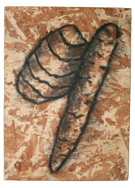, 'No Title (Wood Drawing series),' 1993, Estrada Fine Art