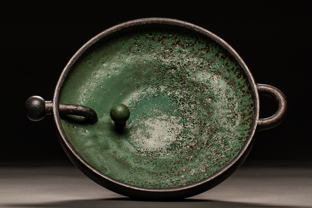 Maja Padrov, 'Green Lava Bowl', 2018, Studio 21 Fine Art