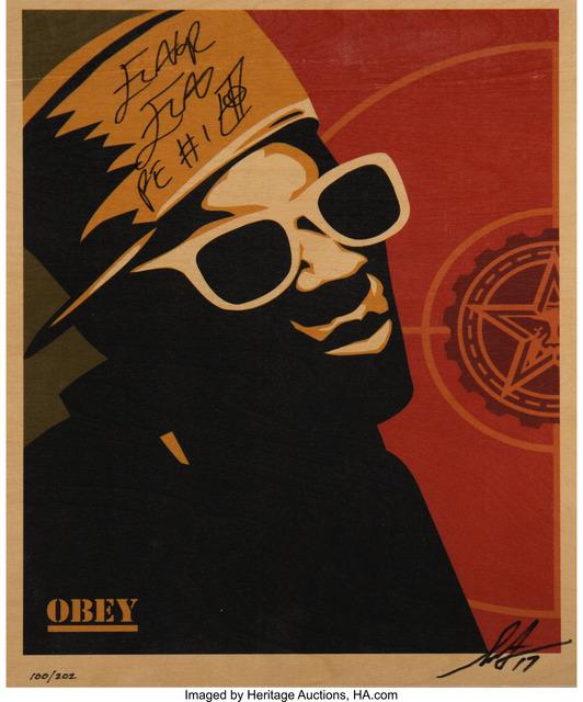 Shepard Fairey (OBEY), 'Flavor Flav', 2017, Heritage Auctions