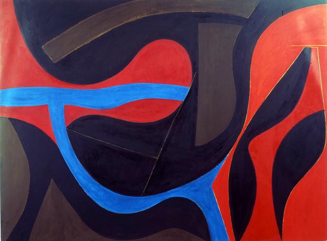 , 'Intrusion of Blue,' 1974, Octavia Art Gallery