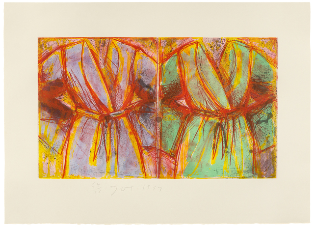 Jim Dine, 'Behind the Thicket', 1993, Hindman