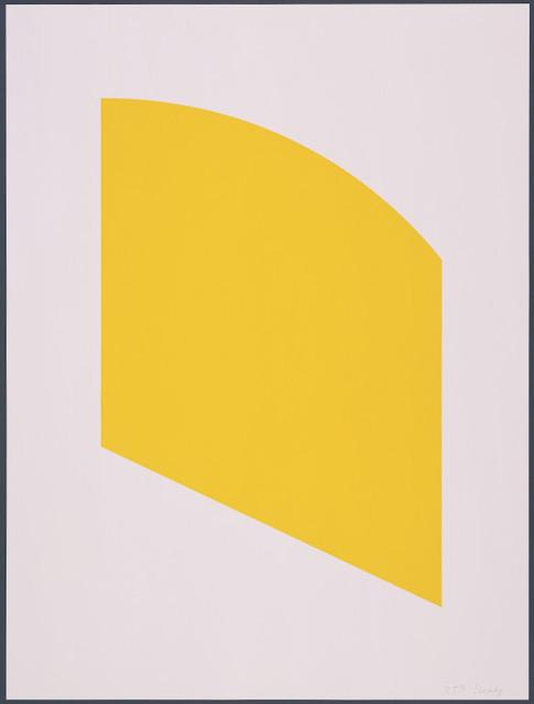 Ellsworth Kelly, 'Yellow', 2004, Cynthia Drennon Fine Arts