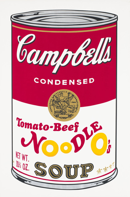 Andy Warhol, 'Campbell's Soup II, Tomato-Beef Noodle O's F&S II.61', 1969 , Print, Screenprint in colors on wove paper, Fine Art Mia