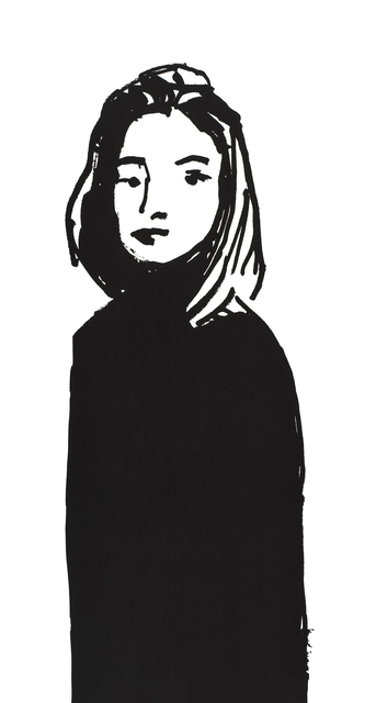 Alex Katz, 'Shopper #5', 2015, Print, Silkscreen on paper, Galerie Schimming