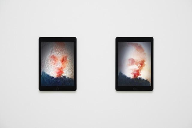 Massimo Grimaldi, 'Portraits, Shown on Two Apple iPad Air 2s', 2014, West Den Haag