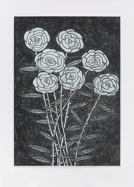 , 'Untitled (night flowers)16.2.16,' 2016, Ingleby Gallery