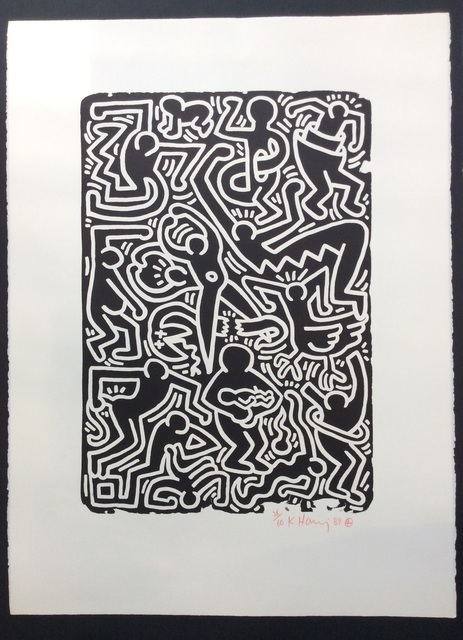 Keith Haring, 'Stones No. 5', 1989, Joseph Fine Art LONDON