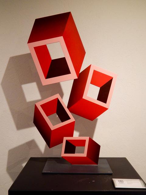 , 'Red Perspective (Medium),' 2019, Aura Galerias
