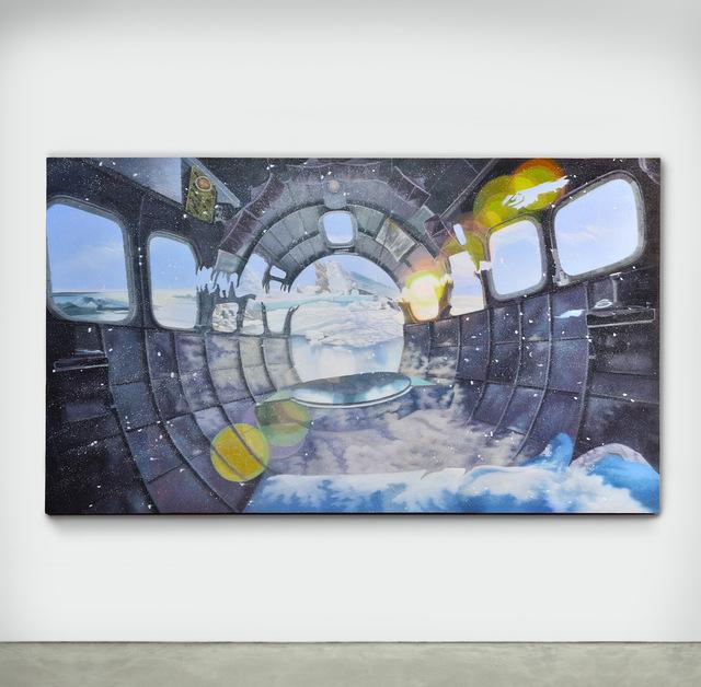 Luis Gispert, 'Untited (Pressure ridge)', 2020, Painting, Oil on Linen, LUNDGREN GALLERY