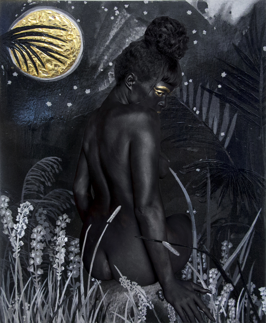 Lina Iris Viktor, 'Pause... Pause For a Paradise Lost then Found... No XIII (The Dark Continent Series)', 2016, Mariane Ibrahim Gallery