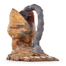Untitled sculpture (Form with Gray Handle), California