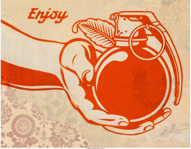 Shepard Fairey (OBEY), 'Fruits of Labor', 2015, Heritage Auctions