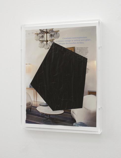 , 'Lies Par Des Intrusion Noir (N°26),' 2013, Josée Bienvenu