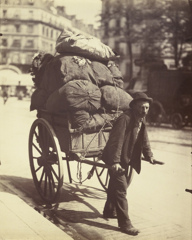 Eugène Atget, 'Chiffonier (Ragpicker),' 1899-1901, J. Paul Getty Museum