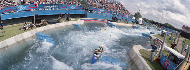 , 'Canoe Slalom, 2012 London Olympics,' 2012, Anastasia Photo
