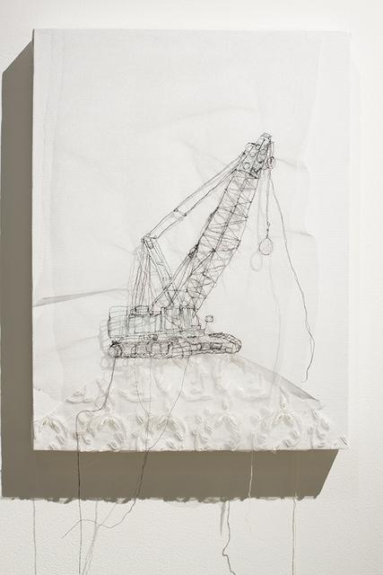, 'Grue de démolition,' 2015, Art Mûr