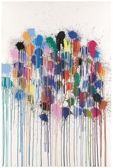 , 'Colour Splat Cloud (white),' 2017, Alan Cristea Gallery