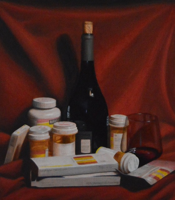 Jen Brown, 'Pills and Booze', 2019, The Secret Gallery
