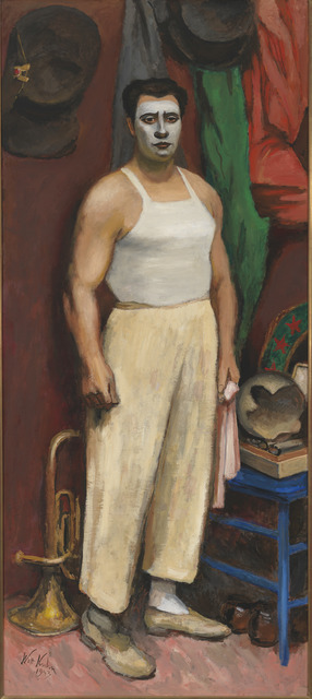 , 'Clown in His Dressing Room,' 1943, Whitney Museum of American Art