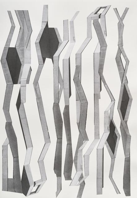 , 'Bänder,' 2016, Galerie Kandlhofer