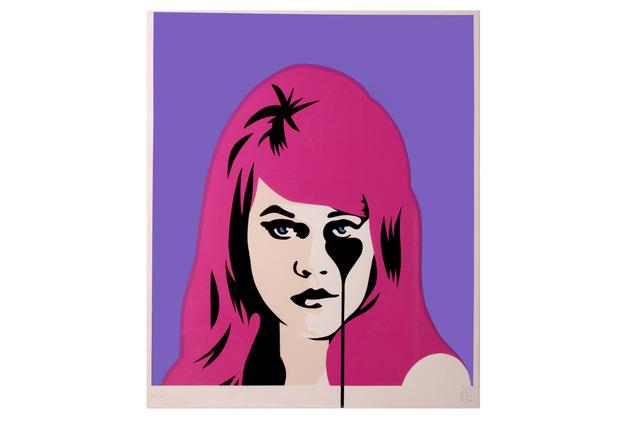 Pure Evil, 'Jane Fonda - Bubblegum Pink', Print, Three colour screenprint on 330gsm Fedrigoni paper, Chiswick Auctions