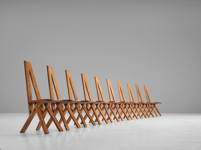 , 'Set of Ten 'Chlacc' Chairs S45,' ca. 1960, MORENTZ