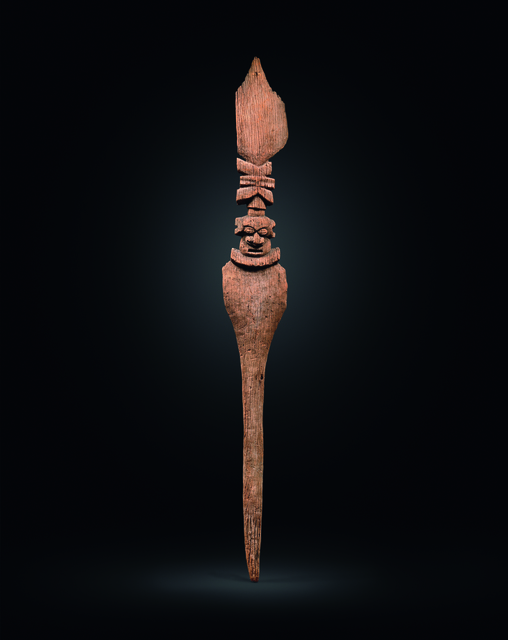, 'An exceptional Chiefly roof-spire from New Caledonia,' 15th to 18th century, Galerie Meyer Oceanic Art
