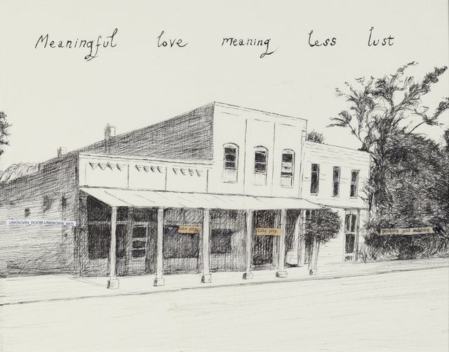 , 'Meaningful Love Meaning Less Lust,' 2018, Lora Schlesinger Gallery