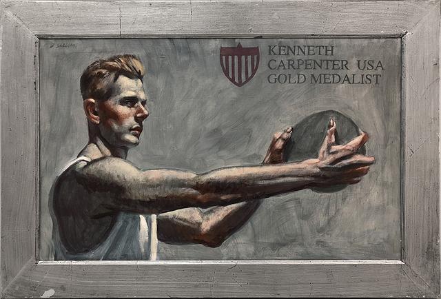 Mark Beard, '[Bruce Sargeant (1898-1938)] Kenneth Carpenter, Gold Medalist', n.d., ClampArt