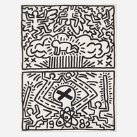 Keith Haring, Nuclear Disarmament poster
