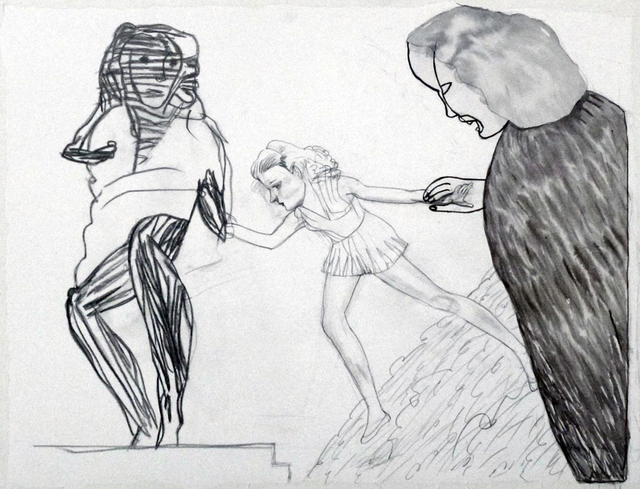 Pat Andrea, 'Une descente assistée', 2015, Galerie DYS