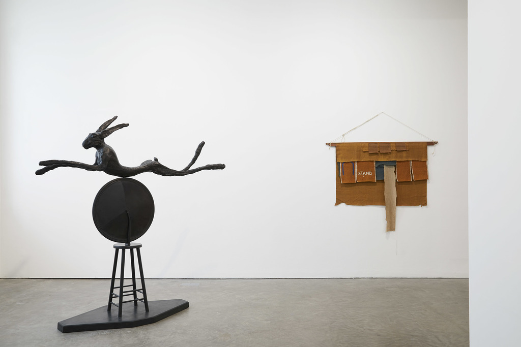 Barry Flanagan, installation Ikon (2019). Courtesy The Estate of Barry Flanagan and Ikon.