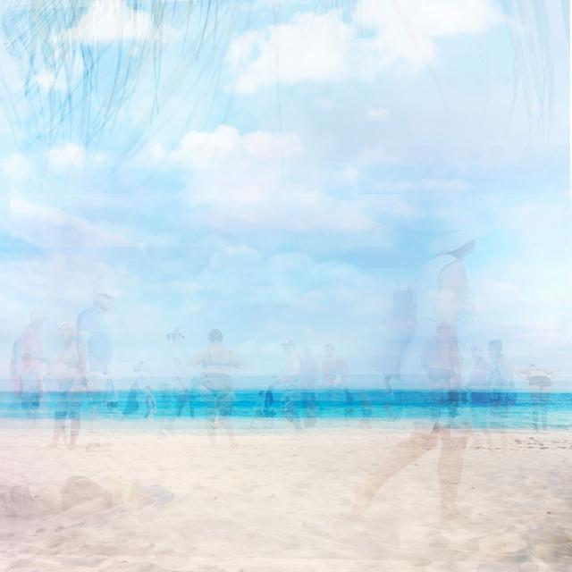 , 'beach traffic,' 2018, Petroff Gallery