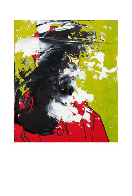 , 'Untitled (Vincent van Gogh Selbstportrait),' 1990, Galerie Krinzinger