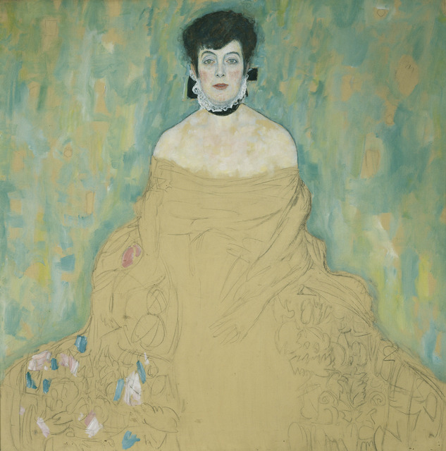 , 'Portrait of Amalie Zuckerlandl,' 1917-1918, The National Gallery, London