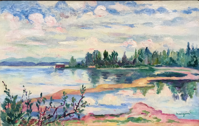 , 'Vue du lac Leman,' undated, Opera Gallery