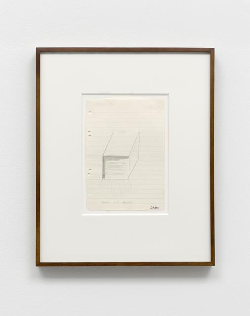 , 'Kasten mit Fransen,' 1970, Sies + Höke