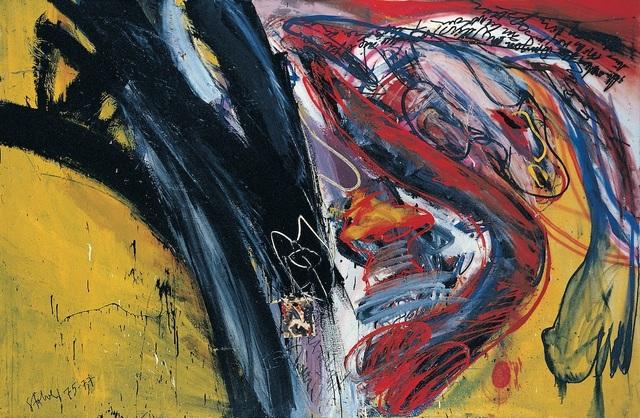 , 'Ich nahm den Dingen die Illusion. Hommage à René Char,' 1975, Galerie Klaus Gerrit Friese